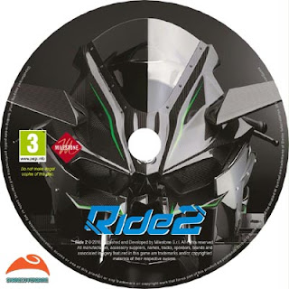 Ride 2 Disc Label