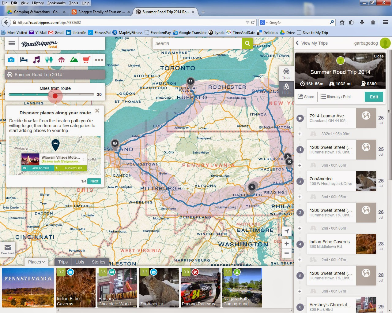 Road Trip Route Planner Map and Trip Guides Roadtrippers 932251     Road Trip Route Planner Map and Trip Guides Roadtrippers Trip Guides  Roadtrippers Support Access blogroadtripperscom Road Trip Route Planner Map
