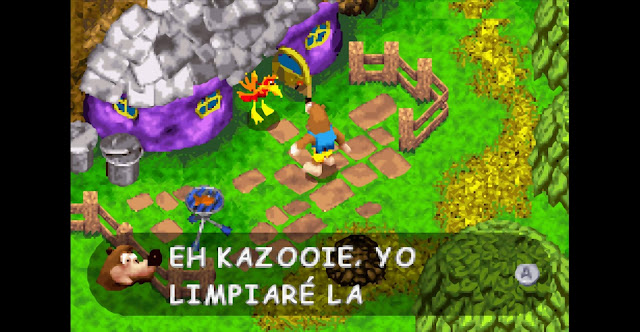 Banjo-Kazooie: La Venganza de Grunty - Español - Captura 2
