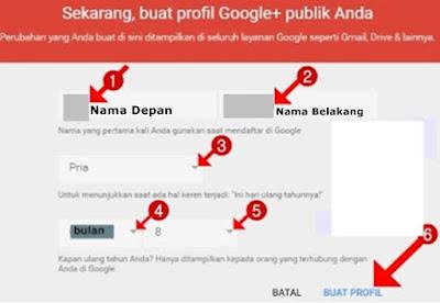 Cara membuat profil Google+
