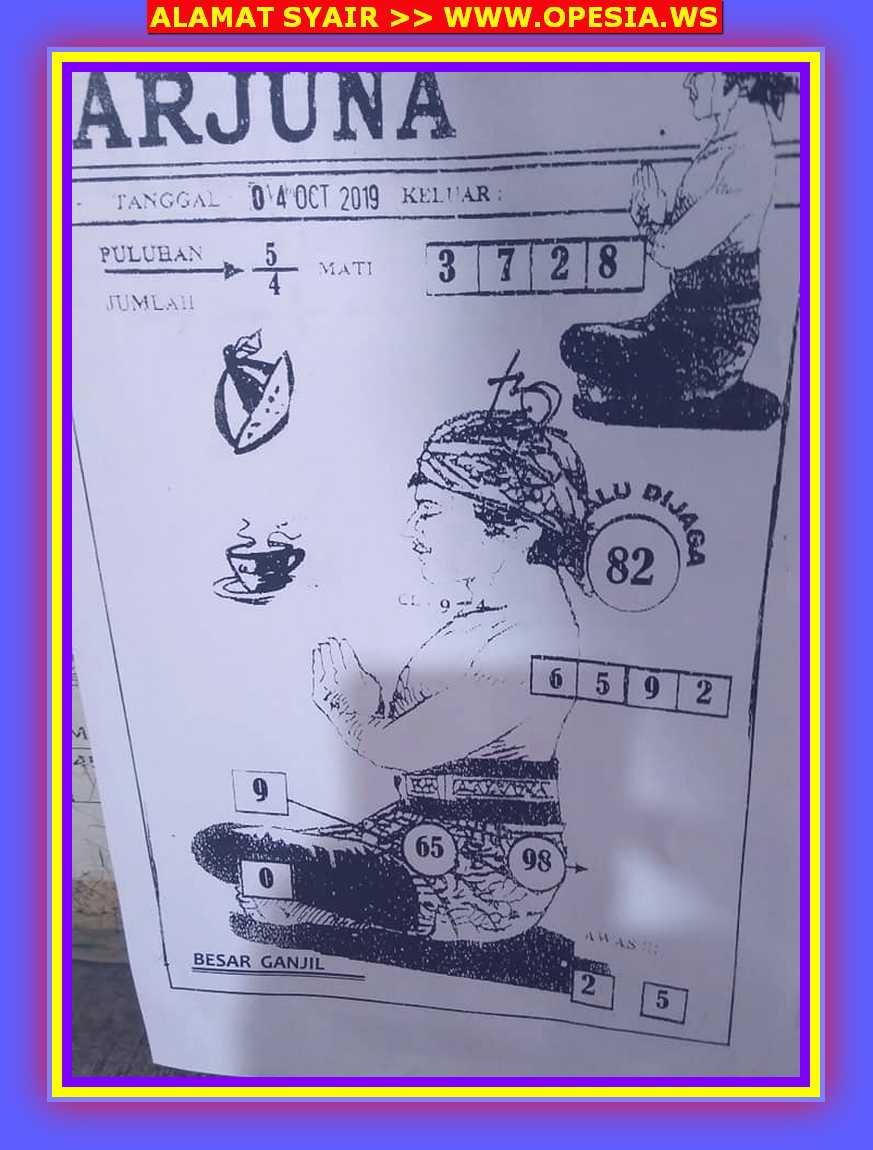 Kode syair Hongkong Jumat 4 Oktober 2019 36