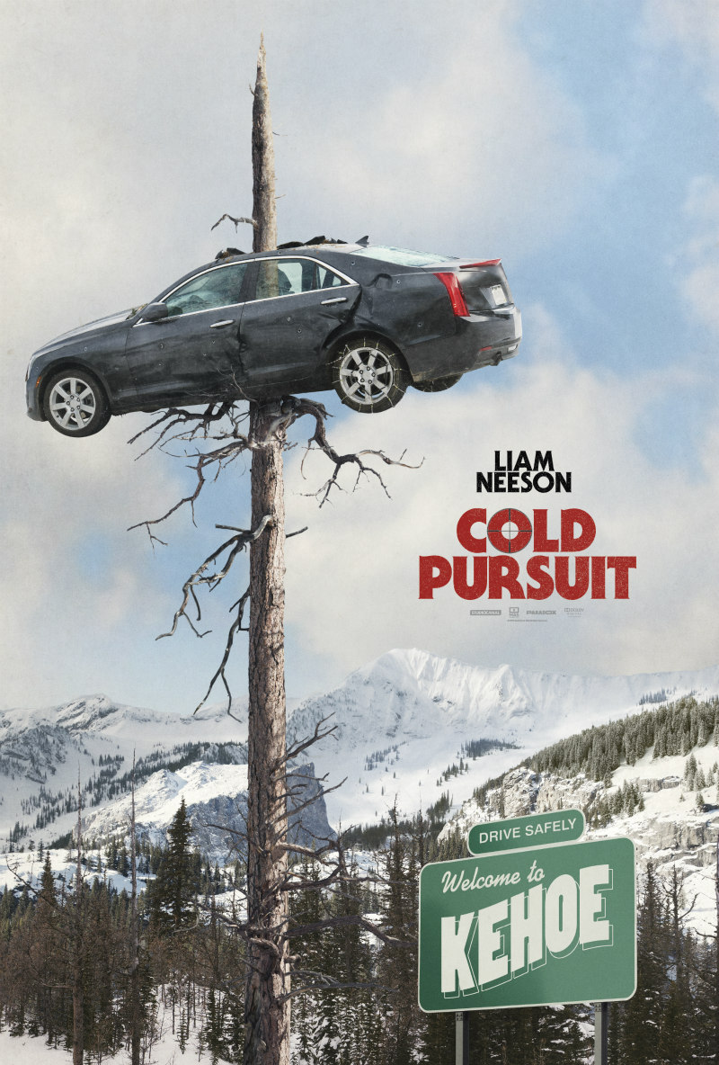 Liam Neeson COLD PURSUIT poster