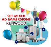Logo Concorso ''Paneangeli ti premia con Kenwood'' vinci 756 Kenwood Frullatore a immersione Triblade