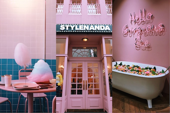 Image result for STYLENANDA PINK POOL CAFE