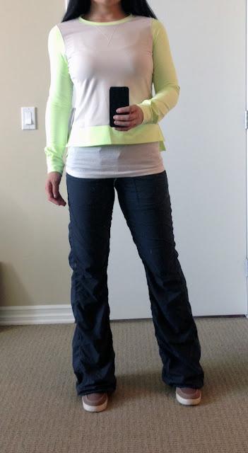 My Superficial Endeavors Ikea: My Superficial Endeavors: Lululemon Warm Up Crew