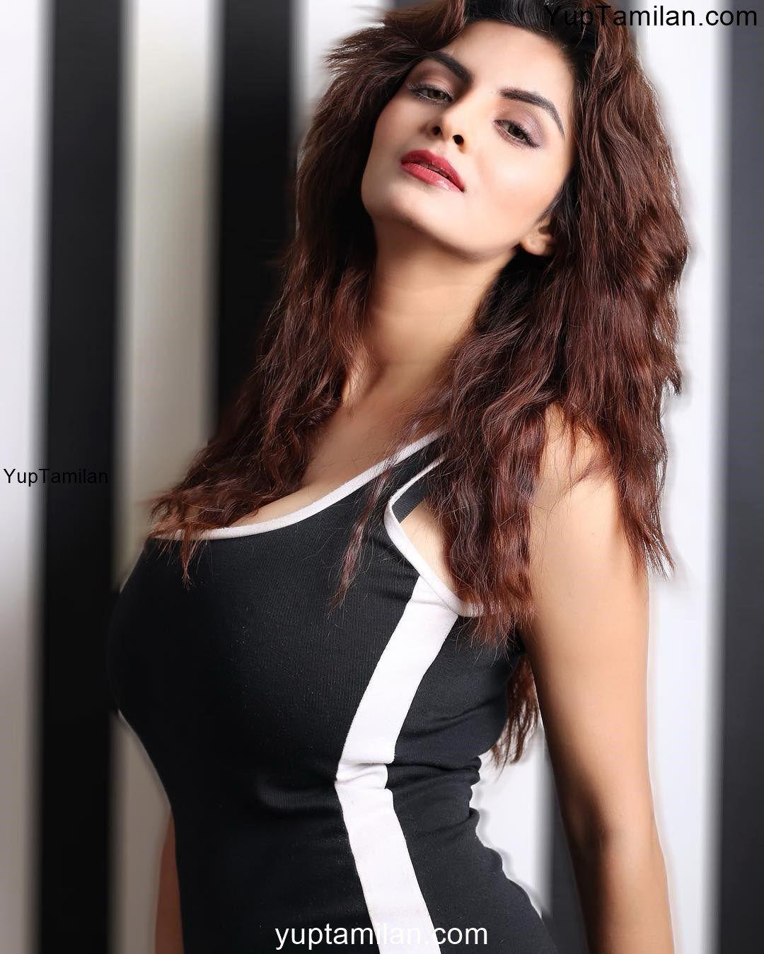 Anveshi Jain Sexy Bikini, Sports Bra Images in HD