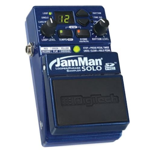 digitech jamman solo looper guitar effects pedal features and review. Black Bedroom Furniture Sets. Home Design Ideas