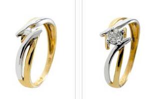 anillos elegantes diamante