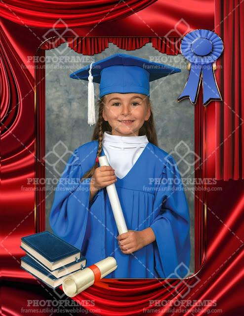 Marco para realzar la belleza de las fotos de graduación