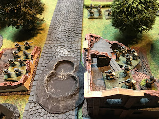 British infantry capture the building