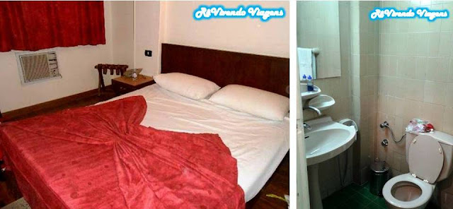 Quarto individual do King Hotel