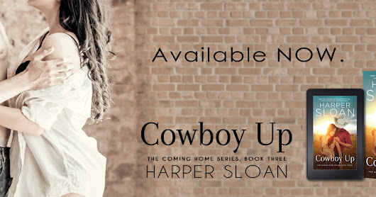 Cowboy Up (Coming Home #3) by Harper Sloan #BlogTour #BookReview #AvailableNow #Excerpt #ComingHome #CowboyUp #netgalley