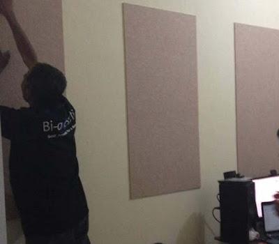 butuh akustik panel di ruangan home studio