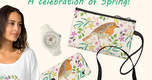 Get the look of Spring with Zazzle goodies!