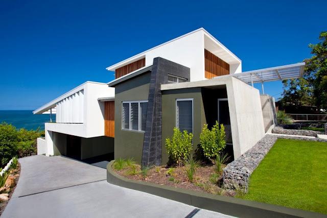 Desain Rumah Dengan Kontur Tanah Tidak Rata