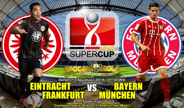 Prediksi Eintracht Franfurt Vs Bayern Munchen 13 Agustus 2018