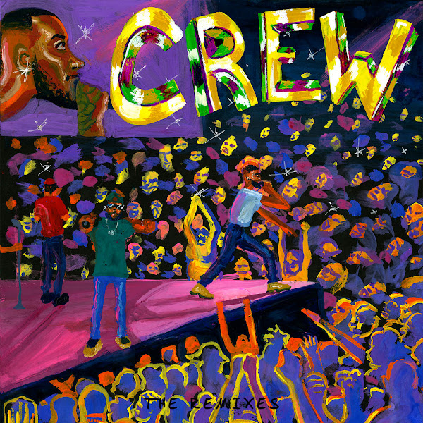 GoldLink - Crew (Remixes) - EP Cover
