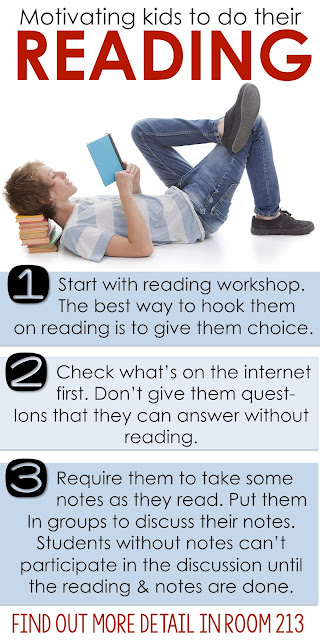 Strategies to motivate kids to read