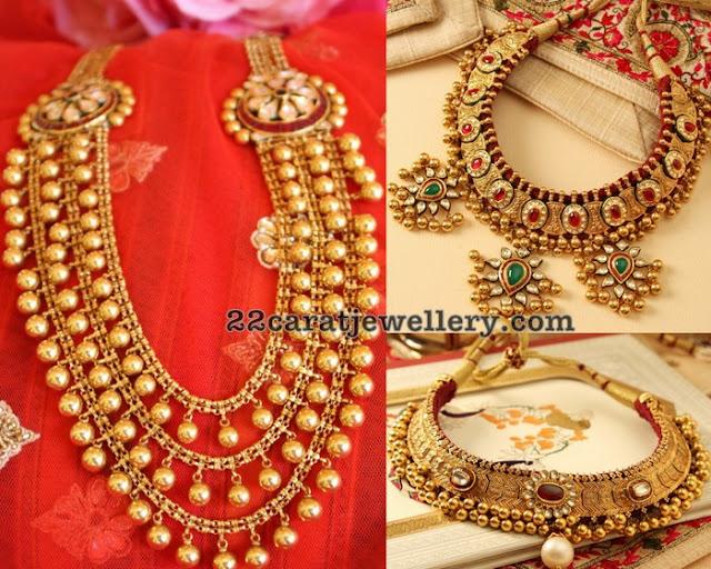 Ethnic Tussi Balls Necklaces