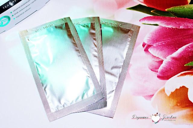 L'biotica plastry na nos Tea Tree głęboko oczyszczające