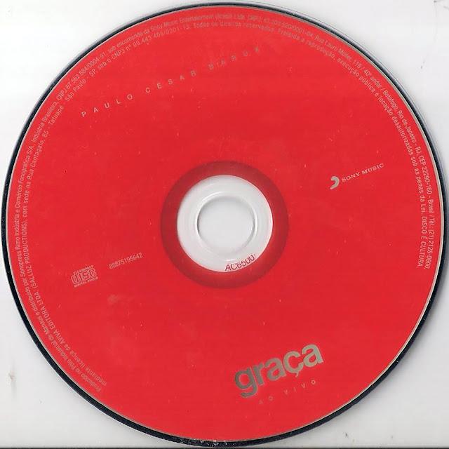Label DVD Paulo César Baruk - Graça - Ao Vivo