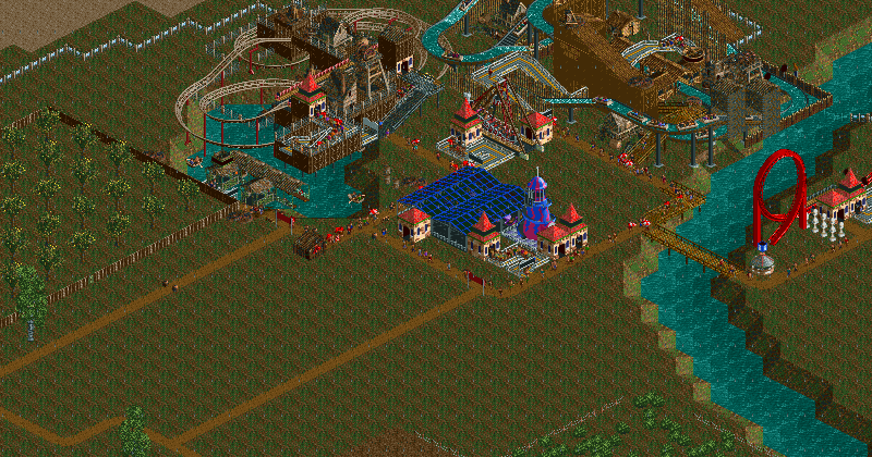 rct2 no money cheat