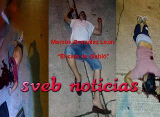 """""""El cara de diablo"""" uno de los 3 ejecutados en Coatzacoalcos Veracruz"""