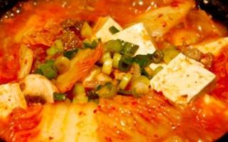 Cara Memasak Soup Sawi Tofu Pedas
