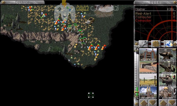 تحميل لعبة Red Alert 1 للكمبيوتر