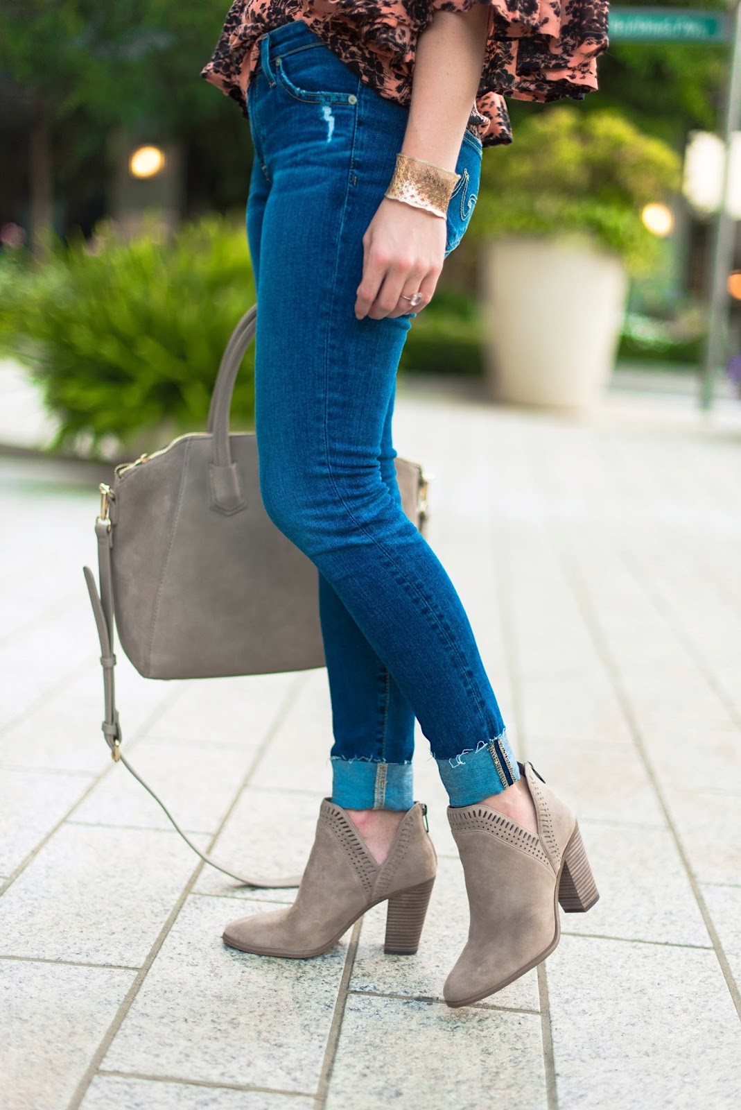 How to style booties - Click through to see more on Something Delightful Blog!