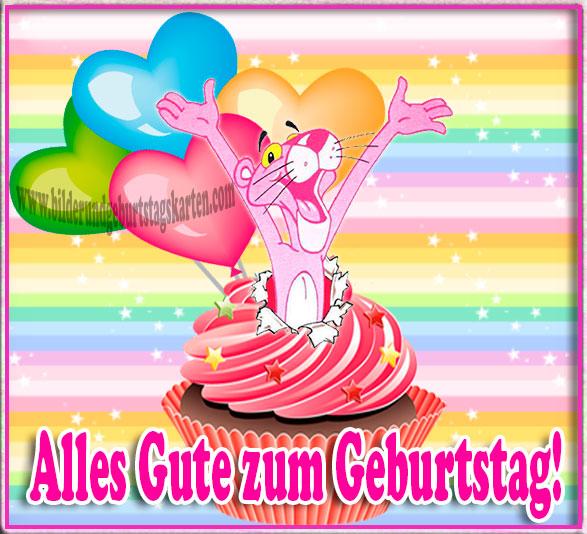 zum Geburtstag Pink Panther