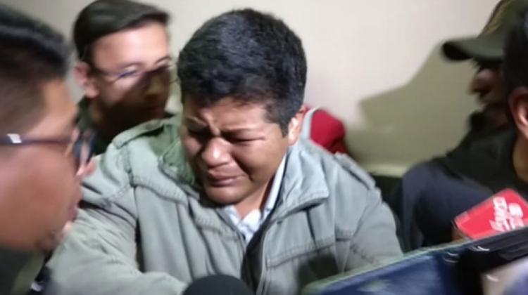 El líder de los cocaleros de Yungas tiene una nueva audiencia de cesación mañana / ARCHIVO ANF