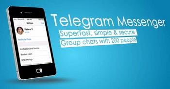 تحميل تلغرام للأيفون