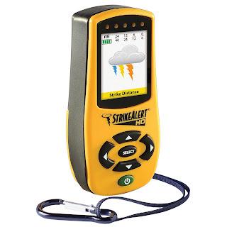 Jual Portable (Personal) Lightning Detector StrikeAlert HD (Alat Pendeteksi Petir)