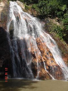 водопад самуи, таиланд