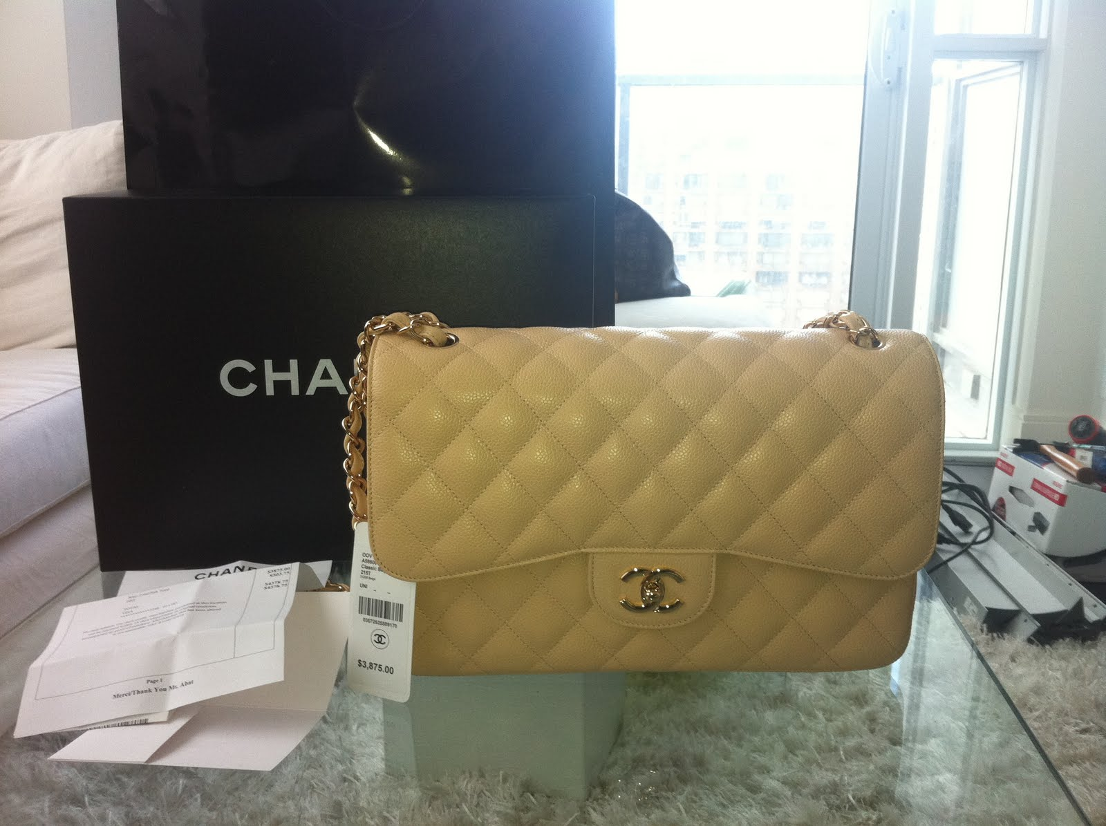 536374b3d2bd Well this is my first post... why not start with my first ever chanel bag!  yes my first love!!!