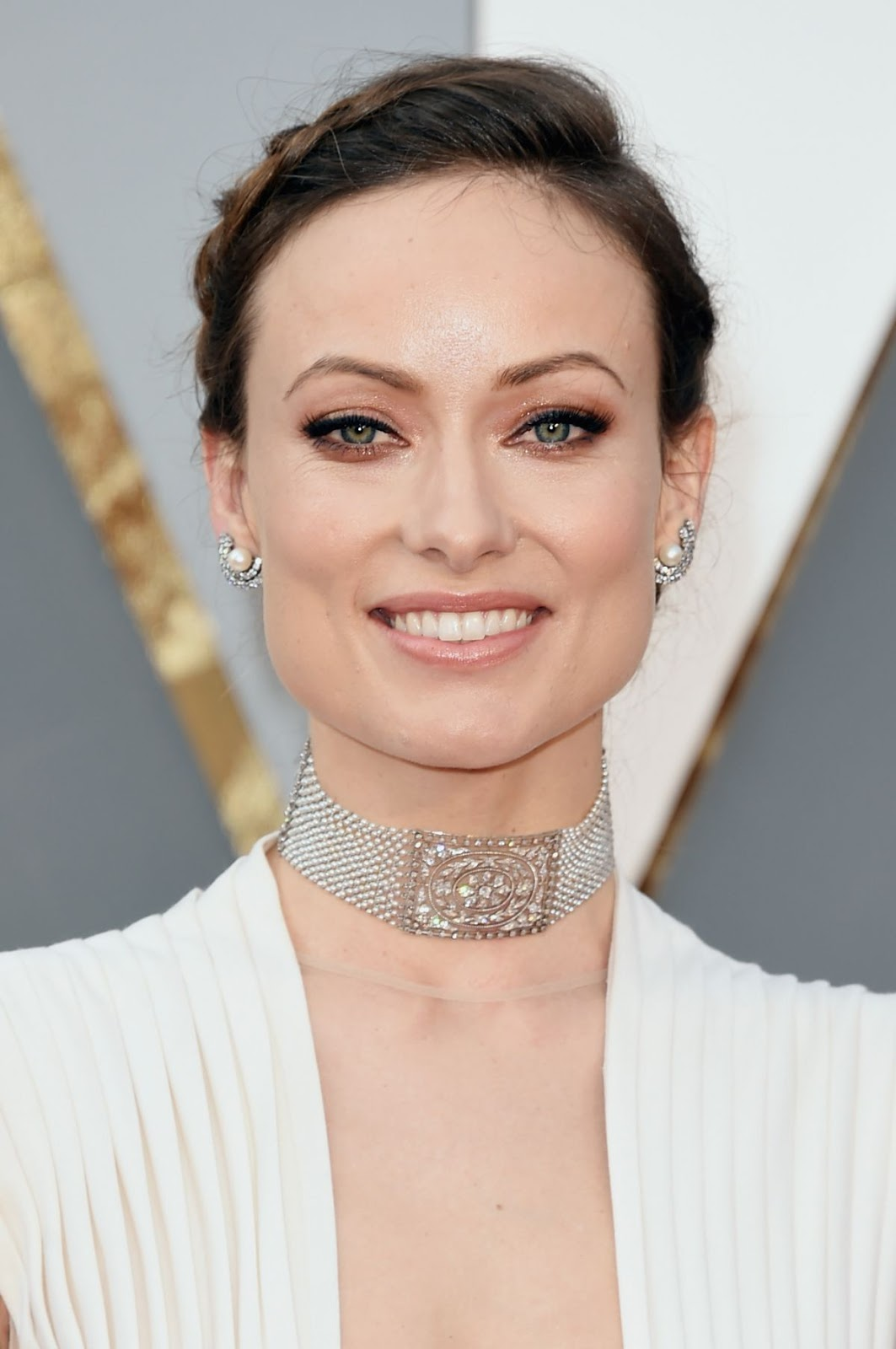 Unity actress Olivia Wilde at 88th Annual Academy Awards 2016