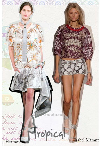 LOOKS DE ESTILO TROPICAL VERANO 2014