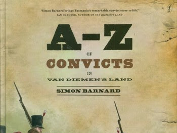 Book Week 2015: A-Z of Convicts in Van Diemen's Land