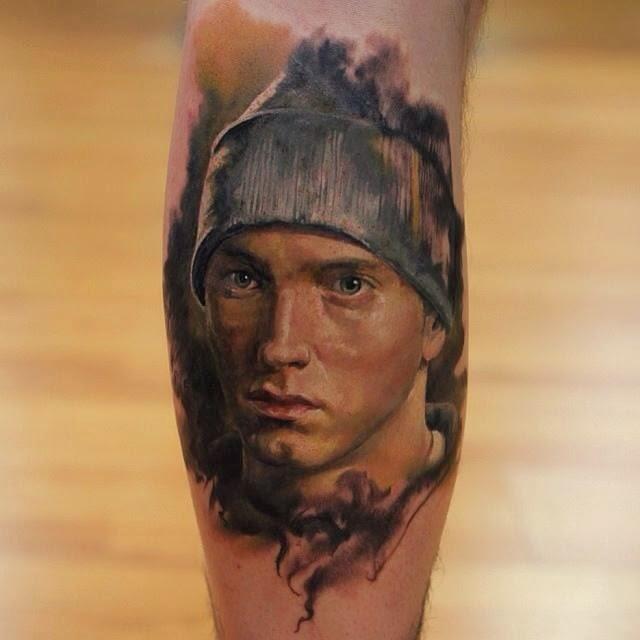 Tatuaje De Eminem Ideas Para Tu Proximo Tattoo Tatuajes - Tatuajes-eminem