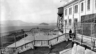 Fotografías antiguas de la prisión de Alcatraz