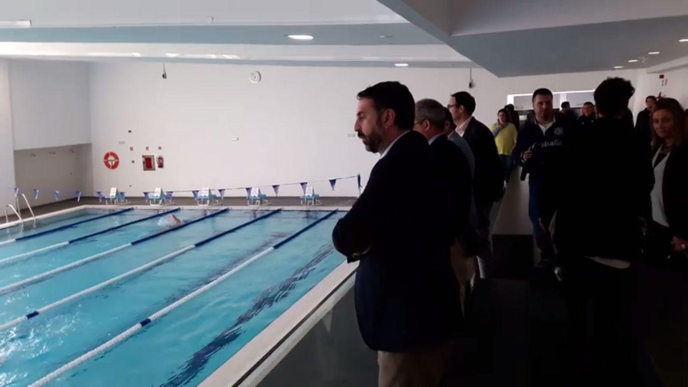 Marchena al d a arahal ya tiene el centro deportivo que for Gimnasio piscina sevilla