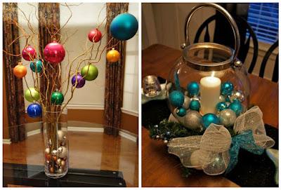 9 manualidades decorativas usando esferas navide as - Adornos navidenos hechos en casa ...