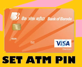How to Reset or Generate ATM PIN - Bank of Baroda Bank ATM Card