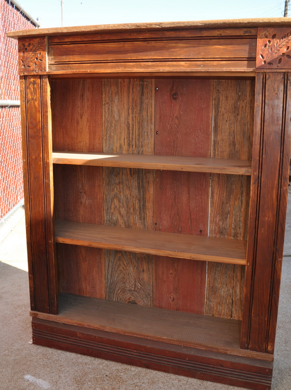 Oklahoma Barn Market Reclaimed Barnwood Shelf