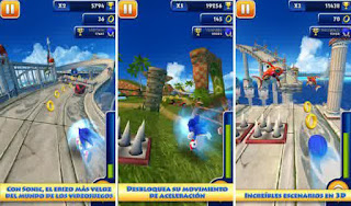 Sonic Dash v3.2.2 Go Mod Apk (Unlimited Red Stars Rings)