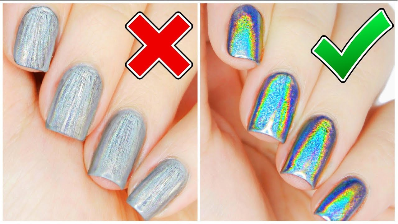 Things You\'re Doing WRONG With HOLO Powder!