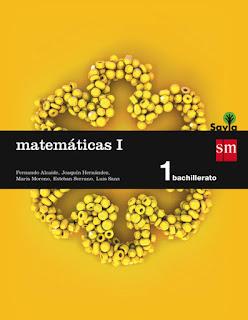 Libro Matemáticas I 1º Bachillerato SM Proyecto Savia