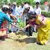 परशुराम सेवा समिति ने रोपित किये रुद्राक्ष के पौधे