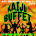 Kaiju Buffet! Original Giant Monster Art Show by Artist Alex Strang